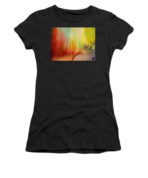 Northern Lights # 1 Women's T-Shirt (Athletic Fit)