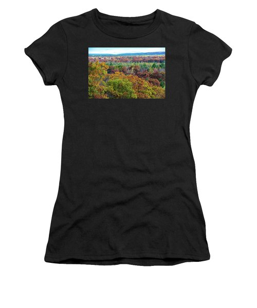 Northern Michigan Fall Women's T-Shirt (Athletic Fit)
