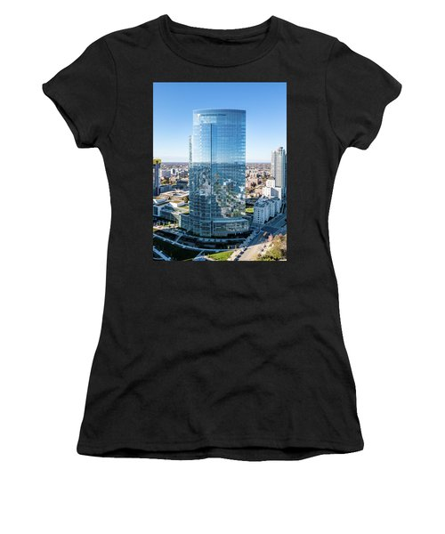 Northwestern Mutual Tower Women's T-Shirt (Athletic Fit)