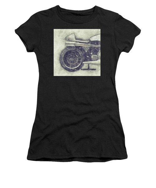 Norton Manx 1 - Norton Motorcycles - 1947 - Vintage Motorcycle Poster - Automotive Art Women's T-Shirt
