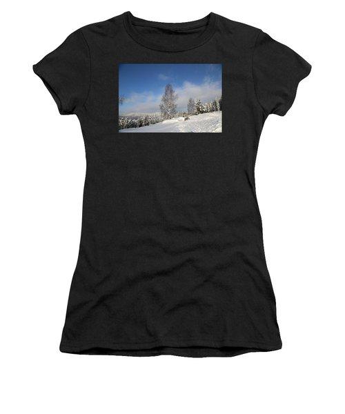 Norwegian Valley. Women's T-Shirt (Athletic Fit)