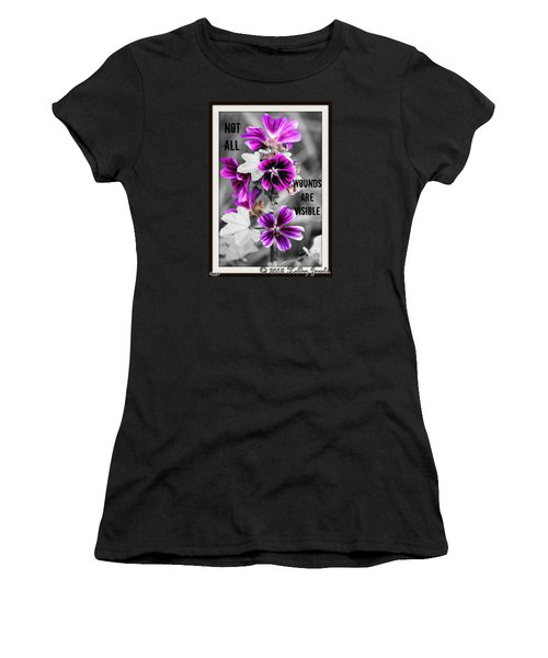 Not All Wounds Women's T-Shirt (Athletic Fit)
