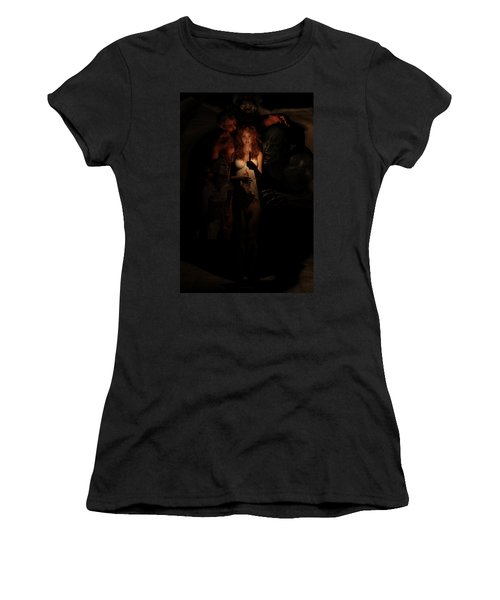 Not Alone In The Dark Women's T-Shirt (Athletic Fit)