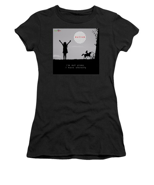 Not Alone Women's T-Shirt (Athletic Fit)