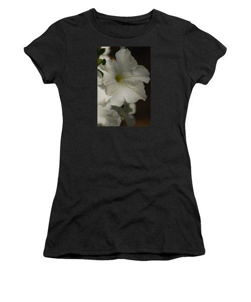Women's T-Shirt (Junior Cut) featuring the photograph Not Perfect But Beautiful by Ramona Whiteaker