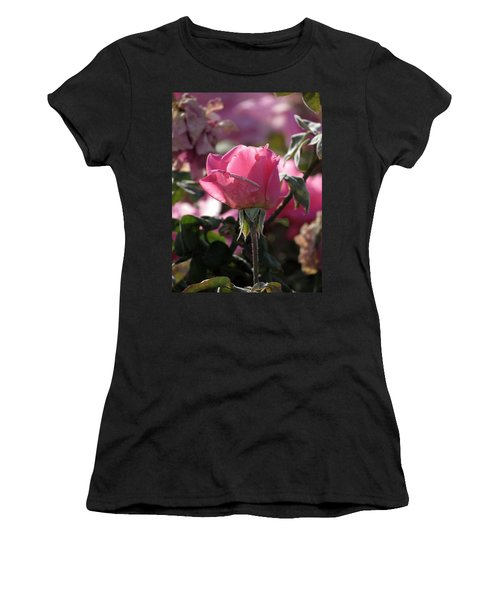 Women's T-Shirt (Junior Cut) featuring the photograph Not Perfect But Special by Laurel Powell