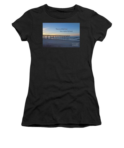 Nothing Better Than A Week At The Beach Women's T-Shirt (Athletic Fit)
