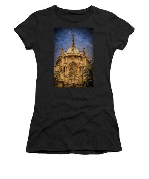 Paris, France - Notre-dame De Paris - Apse Women's T-Shirt