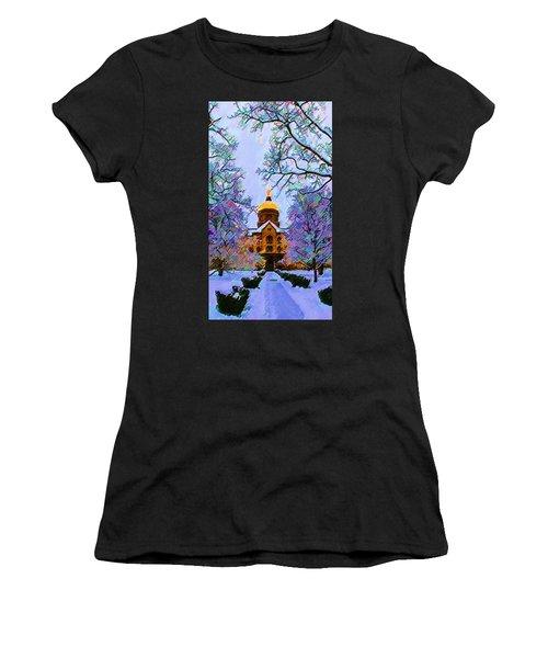 Notre Dame Women's T-Shirt (Athletic Fit)