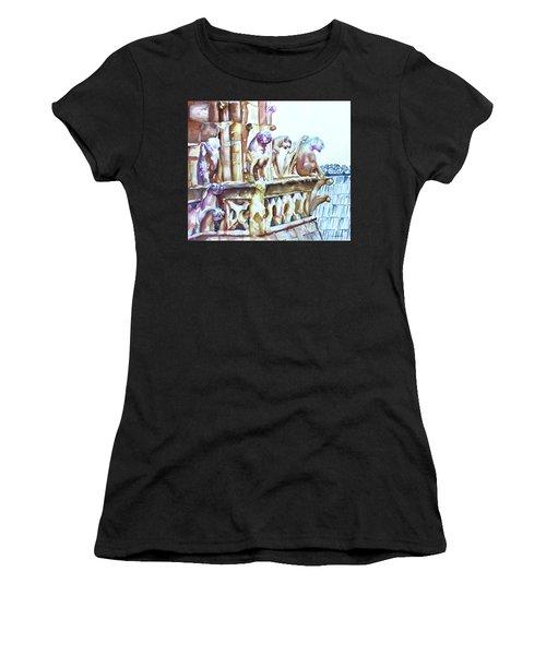 Notre-dame Sentinels Women's T-Shirt (Athletic Fit)