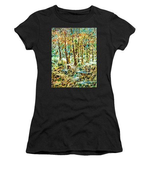 November Morn Women's T-Shirt (Athletic Fit)