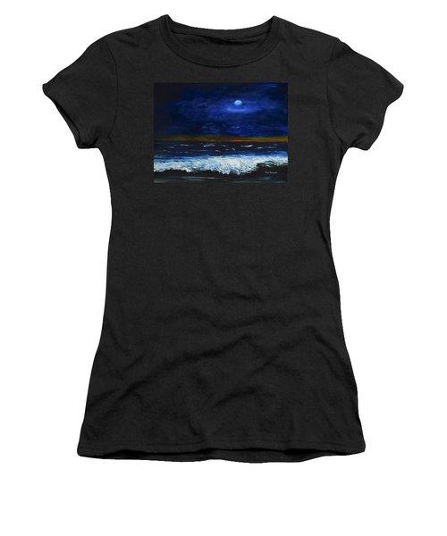 November Sunset At The Beach Women's T-Shirt