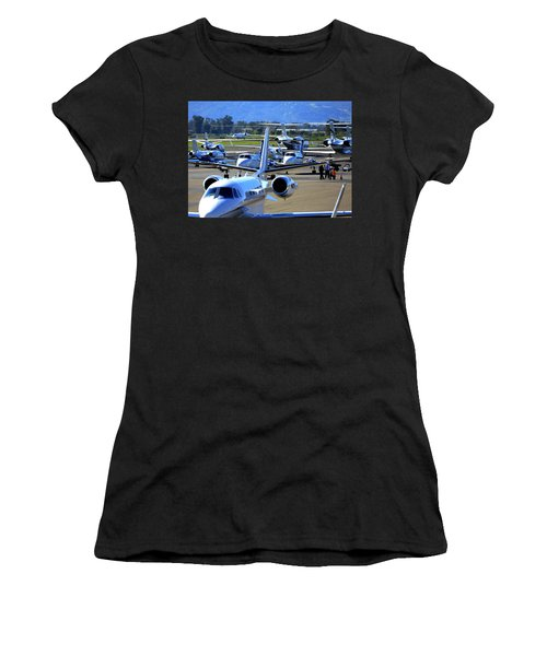 Women's T-Shirt featuring the photograph Now Where Did I Park ... by John King