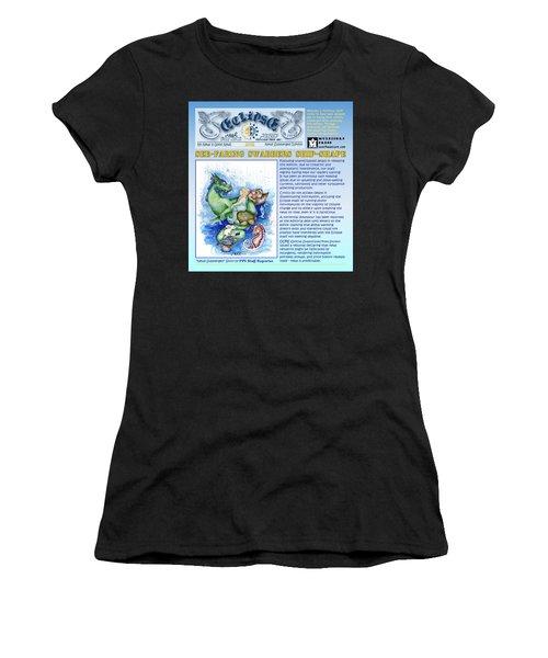 Real Fake News Excerpt Ship Shape Women's T-Shirt