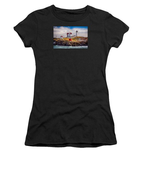 Nubble In Winter Women's T-Shirt (Athletic Fit)