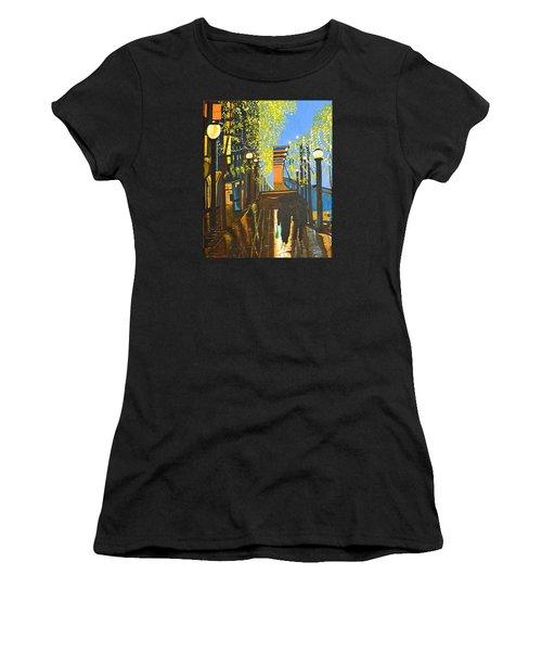 Nuit De Pluie Women's T-Shirt (Athletic Fit)