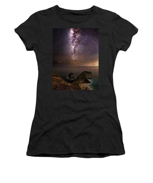 Nusa Penida Beach At Night Women's T-Shirt