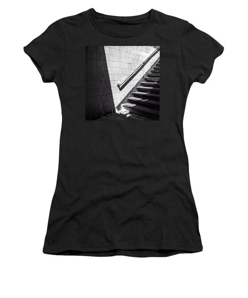 Ny Subway Stairs Women's T-Shirt
