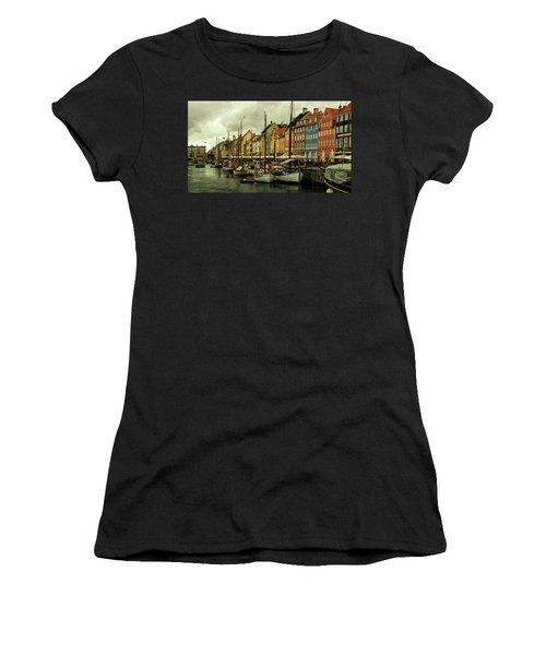 Nyhavn In Copenhagen Women's T-Shirt