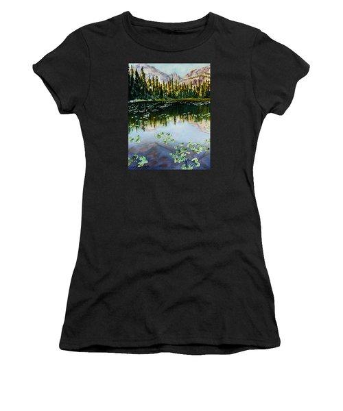 Nymph Lake Women's T-Shirt (Athletic Fit)