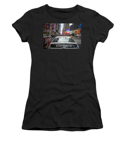 Nypd Women's T-Shirt (Athletic Fit)