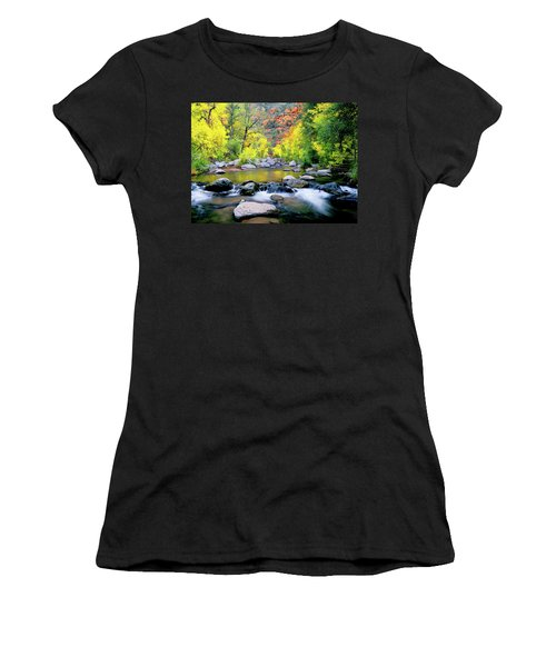 Oak Creek Canyon Women's T-Shirt (Athletic Fit)