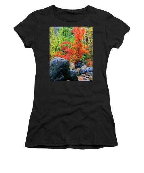 Oak Creek Canyon Red Women's T-Shirt (Athletic Fit)