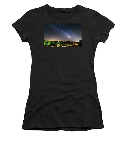 Oak Orchard Milky Way Women's T-Shirt (Athletic Fit)