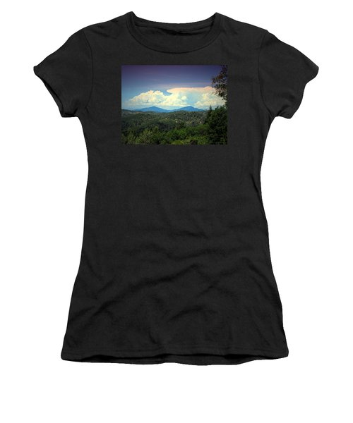 Oakrun Thunderstorm Women's T-Shirt (Athletic Fit)
