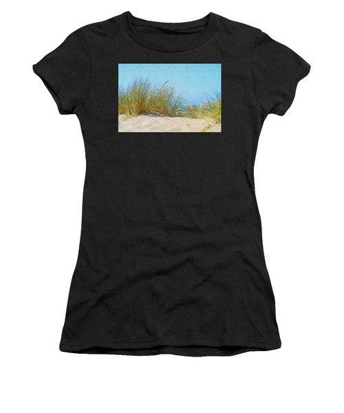 Ocean Beach Dunes Women's T-Shirt (Athletic Fit)