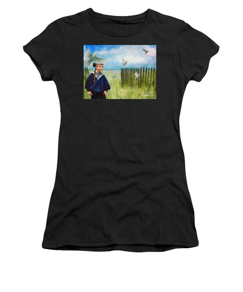 Ocean Breeze Women's T-Shirt (Athletic Fit)