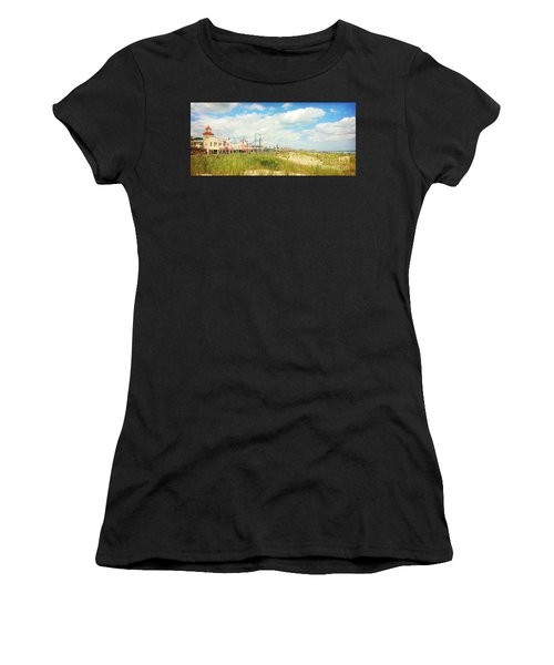 Ocean City Boardwalk Music Pier And Beach Women's T-Shirt (Athletic Fit)