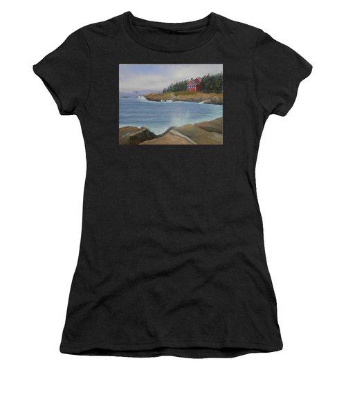 Ocean Cottage Women's T-Shirt (Athletic Fit)