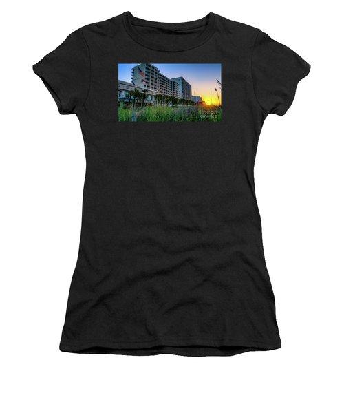 Ocean Drive Sunrise North Myrtle Beach Women's T-Shirt