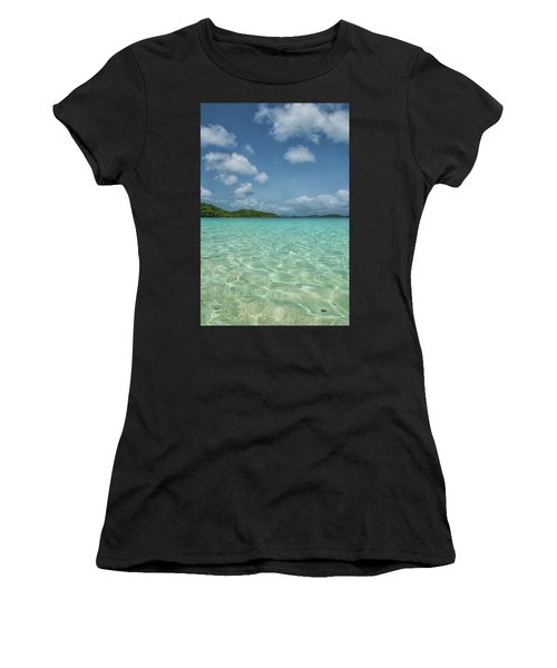 Ocean For Miles Women's T-Shirt (Athletic Fit)