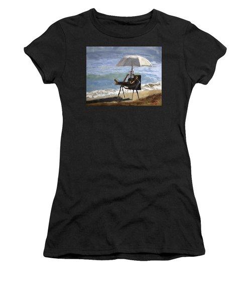 Ocean Reader Women's T-Shirt (Athletic Fit)