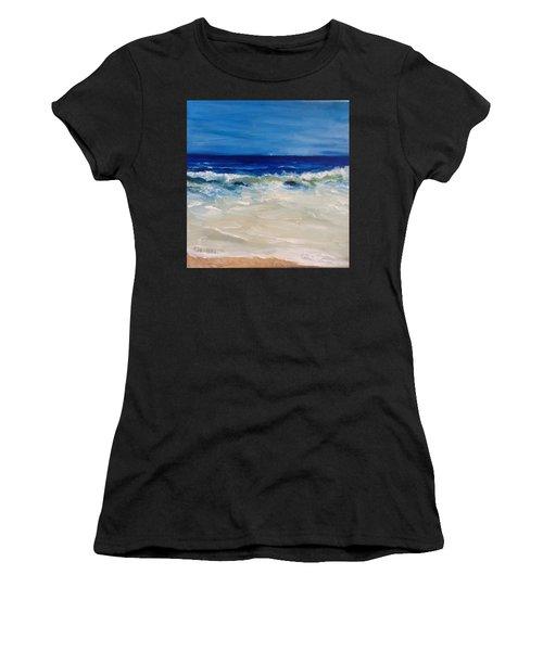 Ocean Roar Women's T-Shirt (Athletic Fit)