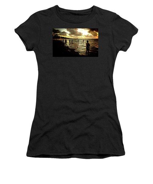 Ocean Thinker Women's T-Shirt (Athletic Fit)