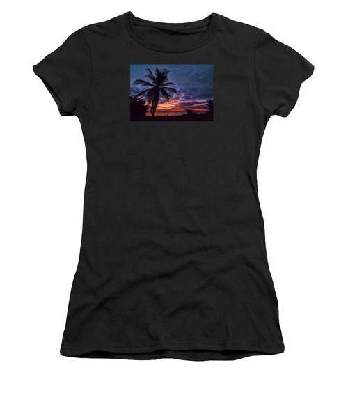 Oceanfront Before Sunrise Women's T-Shirt (Athletic Fit)
