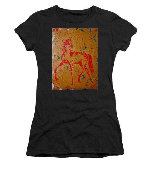 Ochre Horse Women's T-Shirt