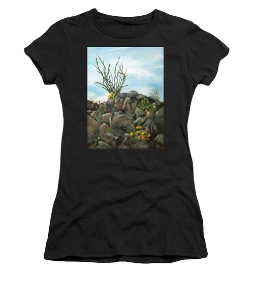 Ocotillo In Bloom Women's T-Shirt