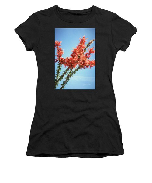 Ocotillo In Bloom Women's T-Shirt (Athletic Fit)