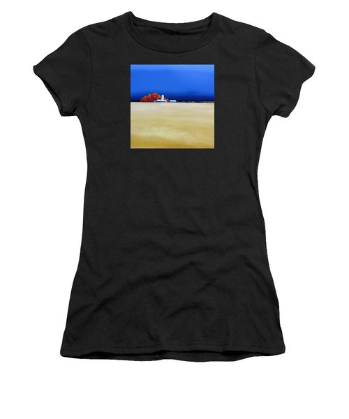 October Fields Women's T-Shirt (Athletic Fit)