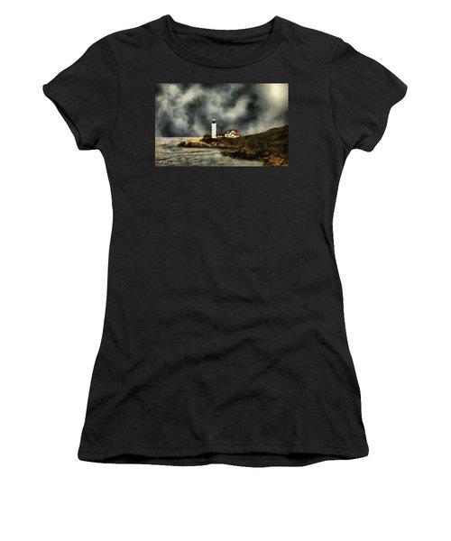 October Night, Portland Head Women's T-Shirt (Athletic Fit)