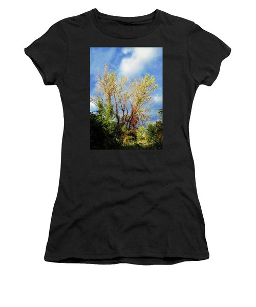 October Sunny Afternoon Women's T-Shirt (Athletic Fit)