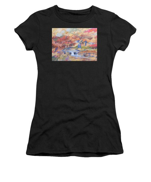 October Walk Women's T-Shirt (Athletic Fit)