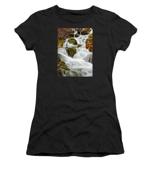 October Waterfall Women's T-Shirt
