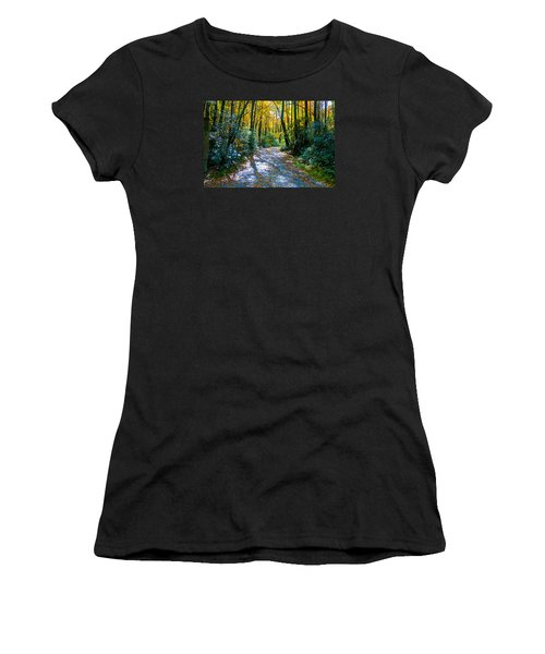 October's Path Women's T-Shirt (Athletic Fit)