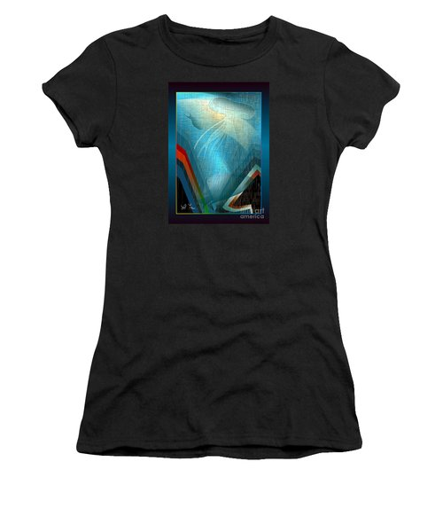 Octopus Women's T-Shirt (Junior Cut) by Leo Symon