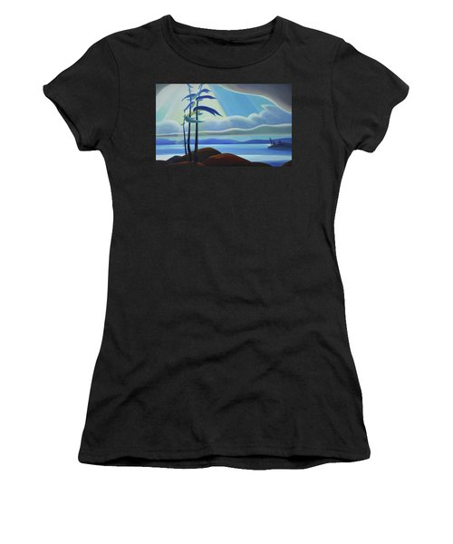 Ode To The North II - Center Panel Women's T-Shirt